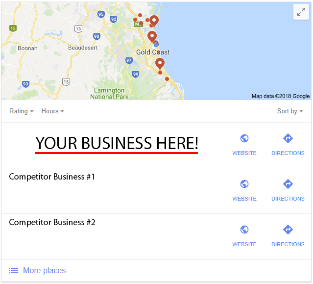 google my business optimisation