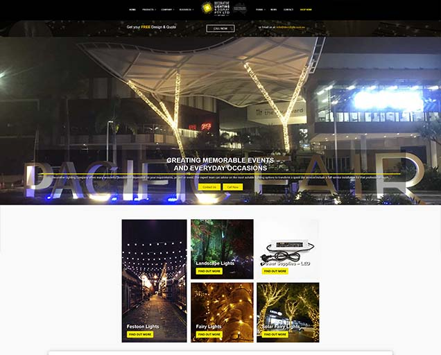 Decorative Lighting Company Portfolio